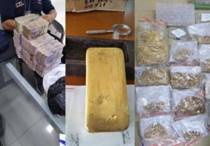 MP destaca desmantelamiento de red de contrabando de oro