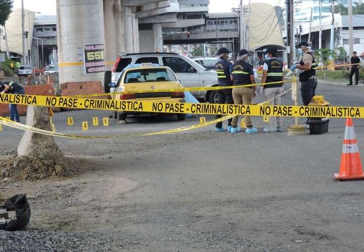 Imagen ilustrativa de un hecho de sicariato ocurrido en la ciudad capital, a plena luz del día. Foto: Landro Ortiz