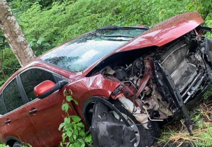 Buco de accidentes de tránsito el fin de semana