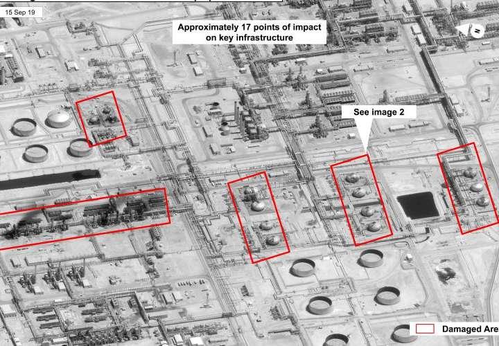 WSJ: Ataque a refinerías se lanzó desde Irán