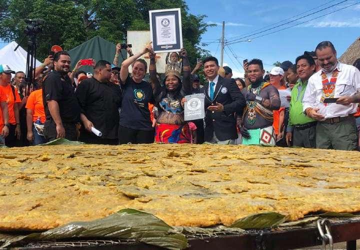 Patacón, récord mundial