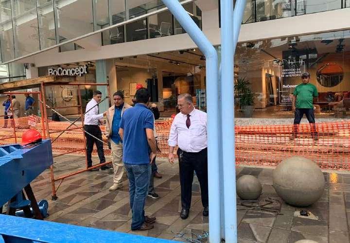 Alcaldía explica inundación en Calle Uruguay