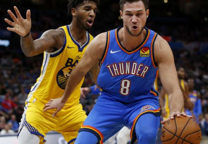 El Thunder le pega otra vez a Warriors