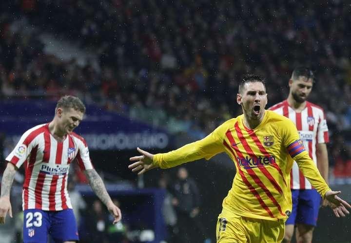 Tenía que ser Messi... siempre Messi