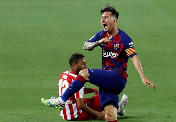 El Barça se chorrea otra vez