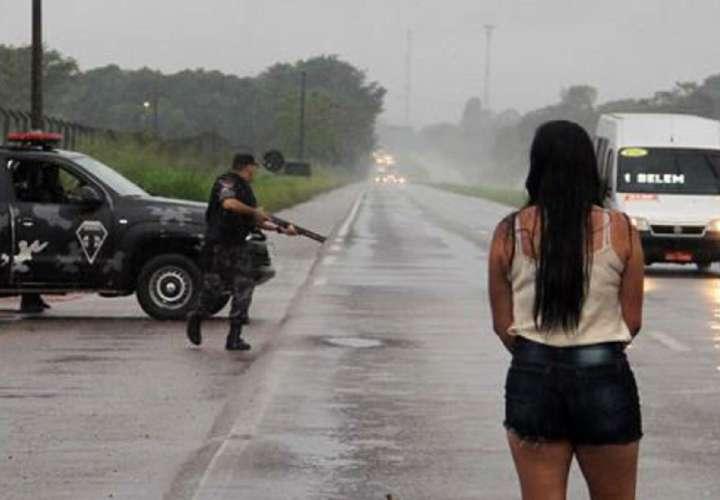 Treinta presos se fugan de una cárcel brasileña
