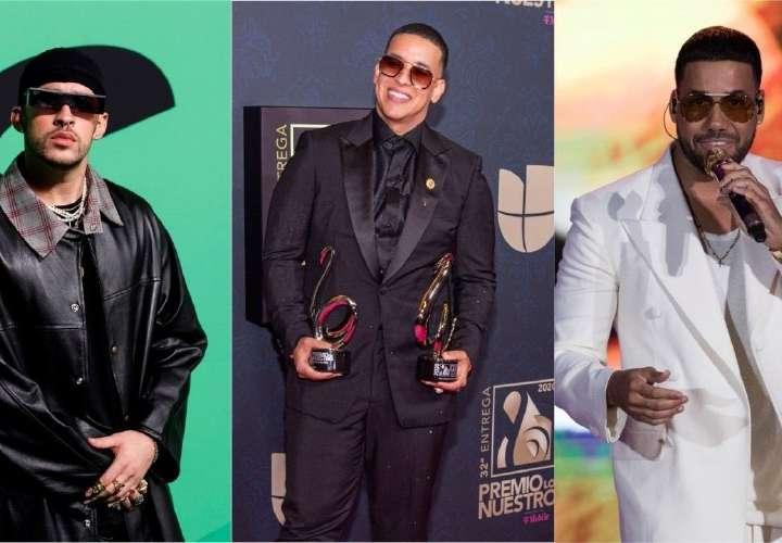Bad Bunny, Yankee y Romeo reciben premios latinos de ASCAP