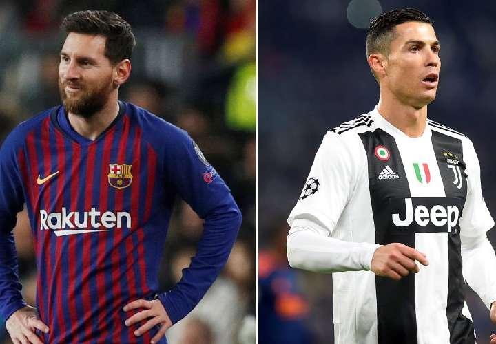 Messi y Cristiano son los mejores pagados