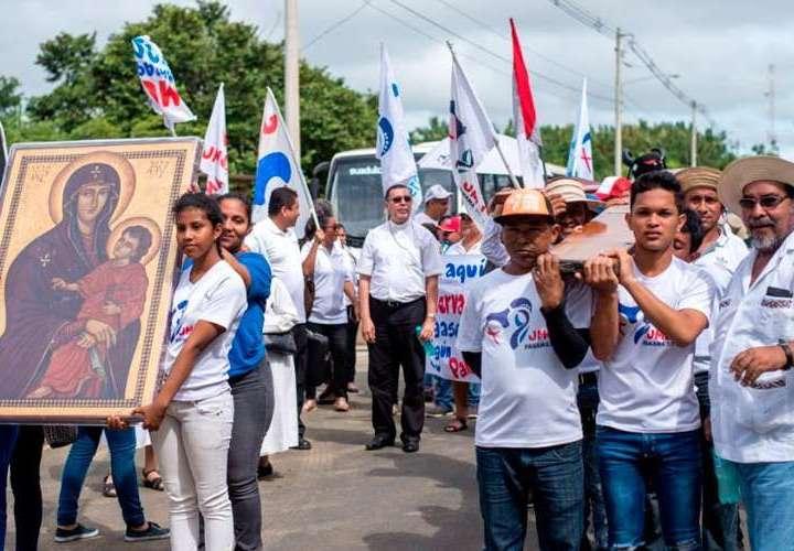 Panamá entrega hoy a Portugal los dos símbolos de la JMJ