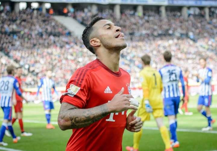 Bayern no gana de visita en eliminatorias desde 2014