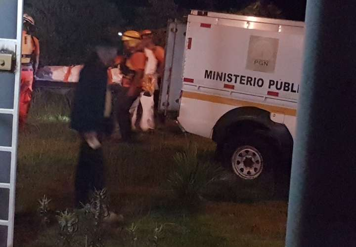 Cadáver en Nuevo Chorrillo