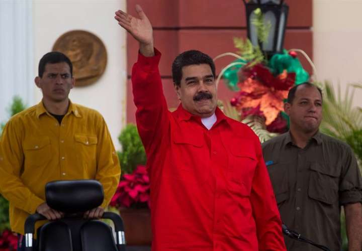 El presidente de Venezuela, Nicolás Maduro (c). EFEArchivo
