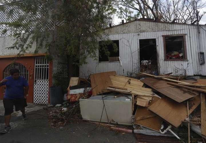 El huracán María devasto la isla hace 68 días y ocasionó la muerte de al menos 55 personas. EFE/Archivo