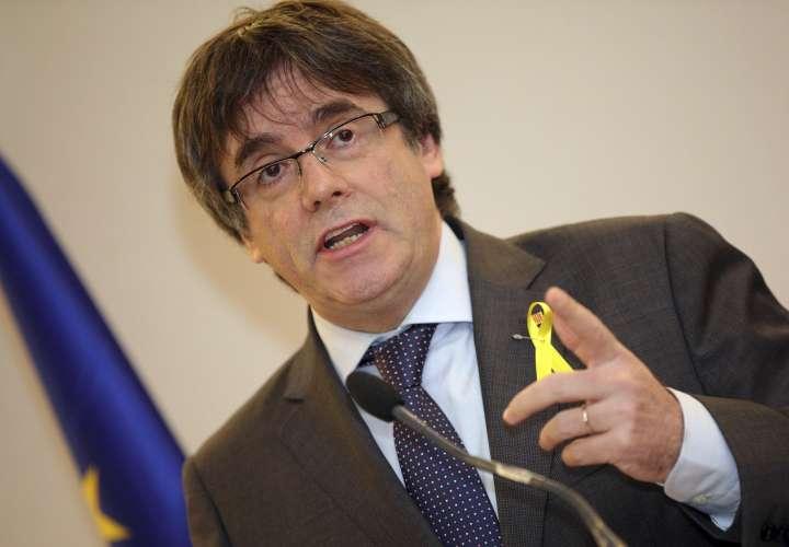 Líder secesionista catalán Carles Puigdemont.  /  Foto: AP