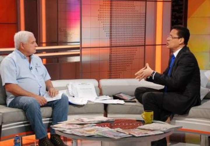 El anunció lo hizo el mandatario durante una entrevista con Alvaro Alvarado