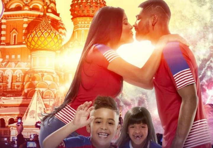 """Gabriel """"Gavilán"""" Gómez junto a su familia."""