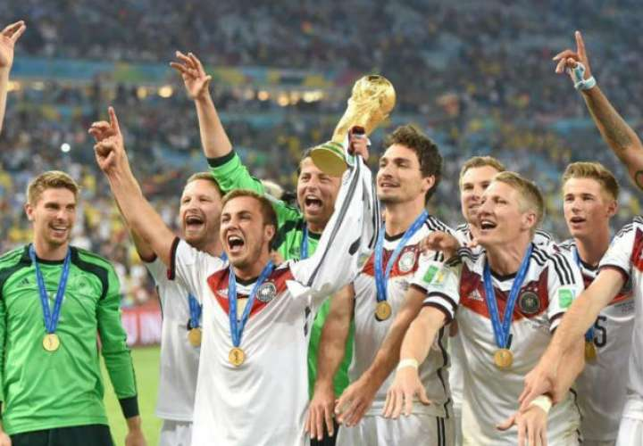 Alemania ha ganado los mundiales de 1954, 1974, 1990 y 2014. EFE