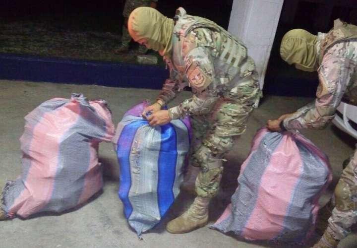 Incautan paquetes de droga en contenedor en el puerto de Balboa