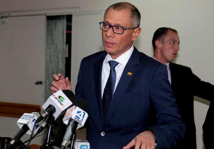 El vicepresidente sin funciones de Ecuador, Jorge Glas. EFEArchivo