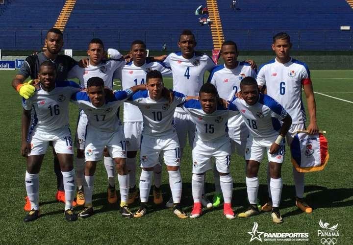 La elección Sub-21 de Fútbol de Panamá no ganó ningún partido en los Juegos Centroamericanos. Foto: Fepafut