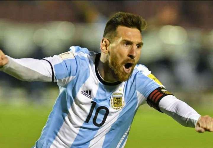 Lionel Messi es la estrella de la Selección de Fútbol de Argentina. Foto: EFE