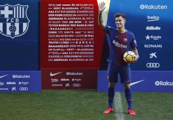 Coutinho: 'Venir al Barça es la realización de un sueño'