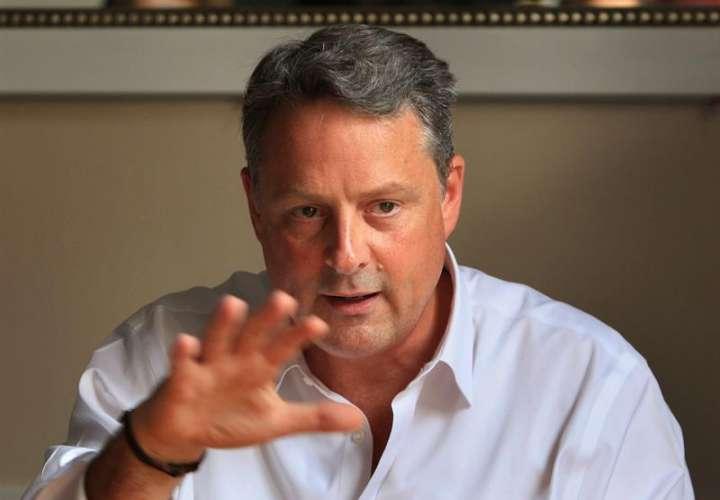 En la imagen, el embajador de EE.UU. en Panamá, John Feeley. EFE/Archivo
