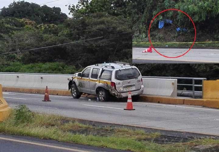Los cuerpos de las víctima quedaron a escasos 100 metros de su residencia ubicada en la entrada de Punta Barco. / Foto: Eric Montenegro