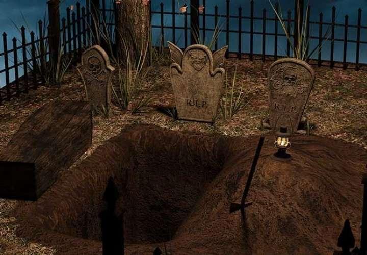 El bebé fue enterrado en el mismo ataúd que su madre. Foto: Ilustrativa - Pixabay