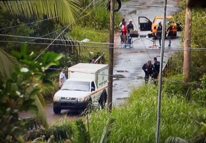 Con los indicios recabados en la escena las autoridades esperan poder identificar a él o los homicidas. /  Foto: Raimundo Rivera