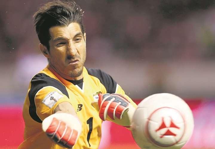 Jaime Penedo, arquero de la selección de Panamá./ Foto Archivo