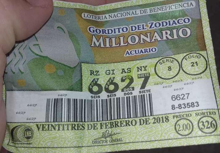 Error en fecha de billete del Gordito del Zodiaco