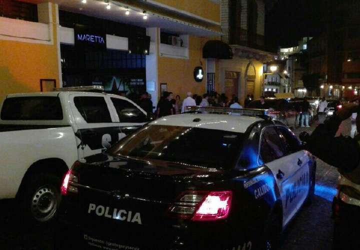 Cuatro baleados en la ciudad capital