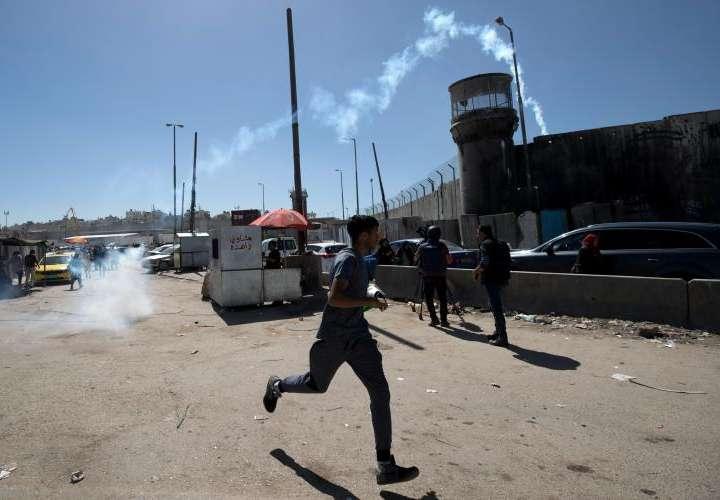 Palestino muere en Nablus