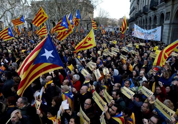 Manifestación por República Catalana