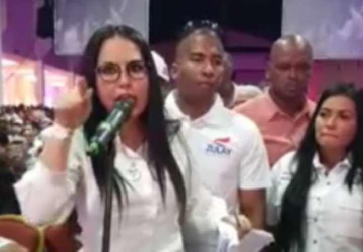 El polémico discurso de Zulay en el congreso PRD