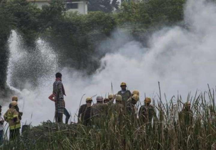 Nueve muertos y 17 heridos en fuego