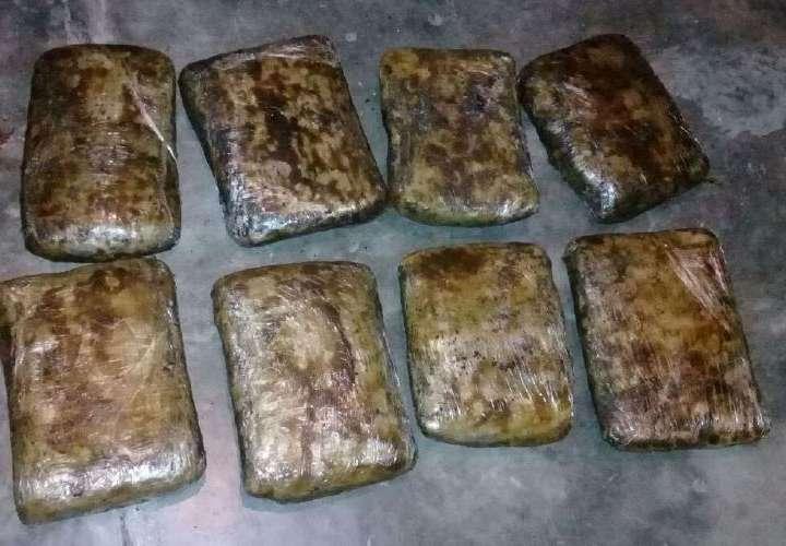 Confiscan 8 kilos de droga en Bayano