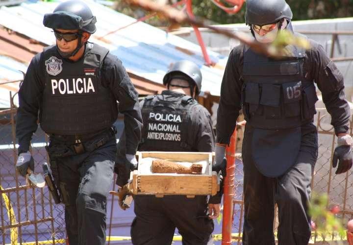 Hallan bomba en La Chorrera