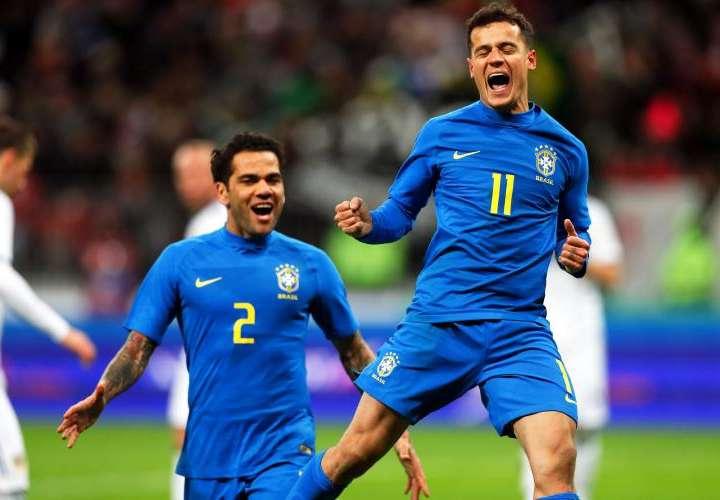 Brasil castiga a Rusia