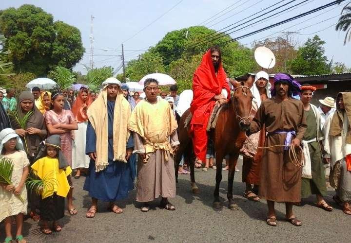 En Río de Jesús se inician actos de la Semana Santa
