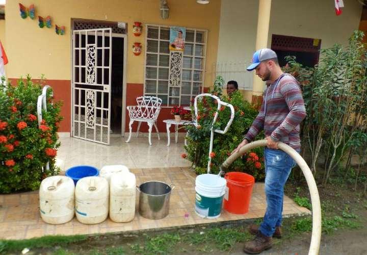 Preocupa constante falta de agua en Boca de Parita