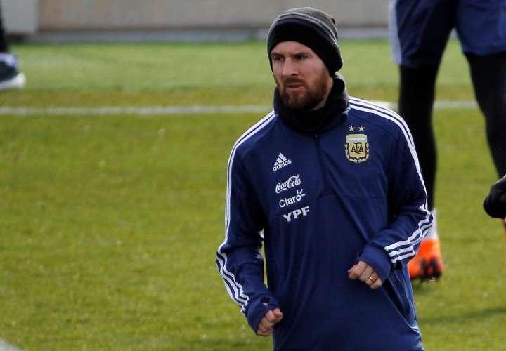 Messi jugará en partido ante España