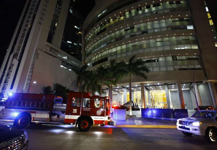 Se incendia barbacoa en edificio en Punta Pacífica