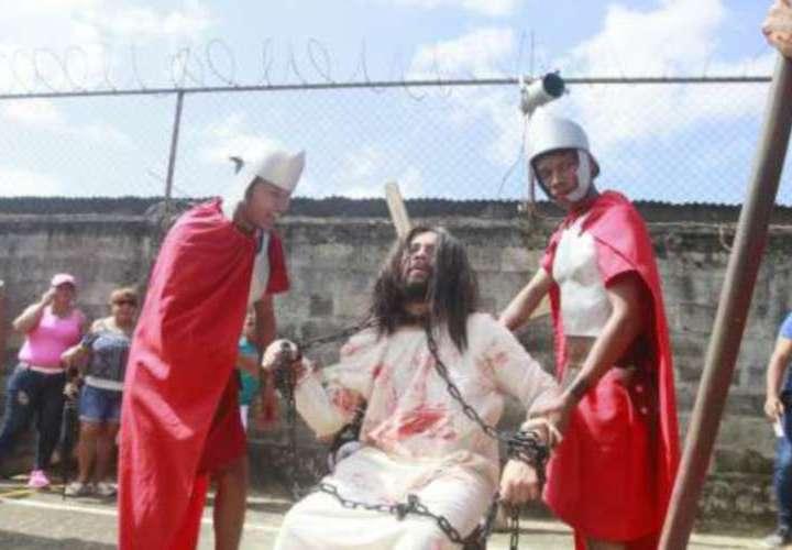 ¡Drama de vida, pasión y muerte de Jesús!