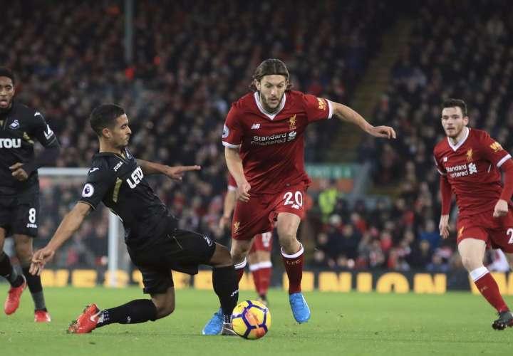 Adam Lallana, jugador del Liverpool/ AP