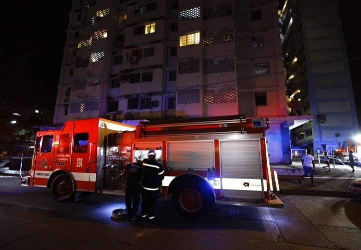 Fuego en apartamento en El Chorrillo
