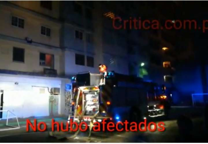 El incendio no provocó víctimas ni heridos