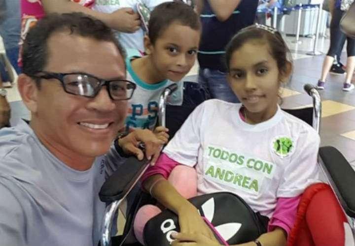 Luis Casis nuevamente logra su objetivo, Andrea ya está en España