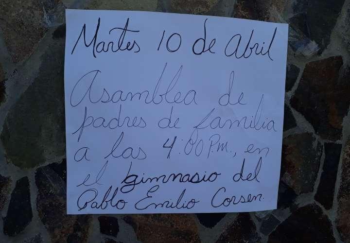 Amenazan con tomarse la sede del Meduca en Chiriquí